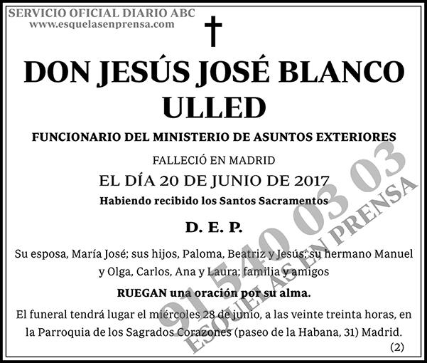 Jesús José Blanco Ulled